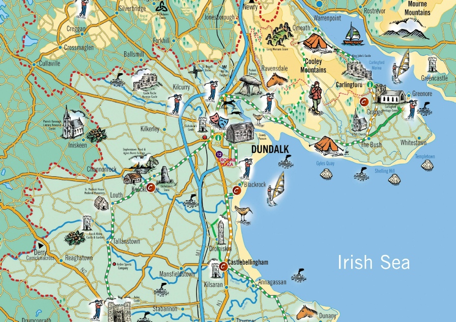 Dundalk Map